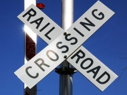 RR Crossing sign