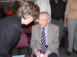 Wartime translator Hugh Lunghi (Photo: Jackie Johnson)