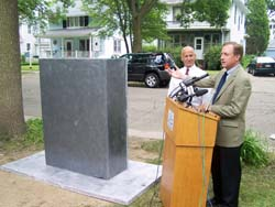 Mayor Dave and an example of a cable box
