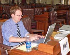 Rep. Thomas Nelson opposes budget impasse (Photo: Jackie Johnson)