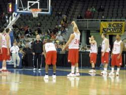 Badgers NCAA shootaround