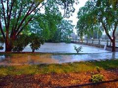 Fond du Lac River flooding/KFIZ