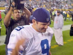 Tony Romo after win over Packers
