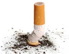 Wisconsin cigarette butt