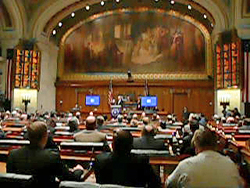 Governor Jim Doyle's state of the state (Photo: Jackie Johnson)