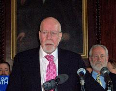 Sen. Fred Risser (D-Madison)