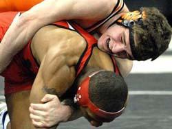 2009 State Wrestling Action