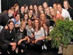 Badger women's hockey team