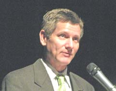 Commerce Secretary Dick Leinenkugel