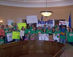 WISPERG students at Capitol