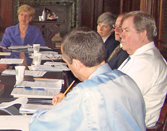 Congresswoman Tammy Baldwin meets with Wisconsin experts to discuss health care (Photo: Jackie Johnson)
