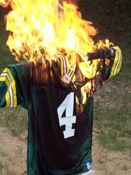Disgruntled Favre fan