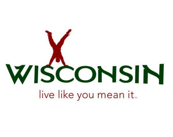 "Wisconsin Department of Tourism's logo ""Live Like You Mean It."""