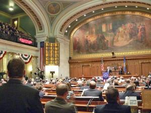 Assembly chambers  (PHOTO: Jackie Johnson)