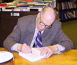 Gaylord Nelson at book signing (File photo: Jackie Johnson)