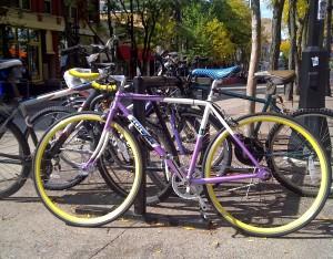 Bikes in Madison PHOTO: WRN