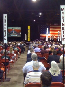 The 2012 WisGOP convention (Photo: WRN)