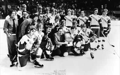 Badger Hockey 1973