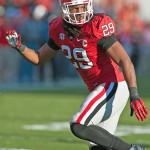Linebacker Jarvis Jones (29) (Photo by Philip Williams)