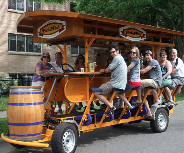 Pushing Pedal Pubs Wisconsin Radio Network