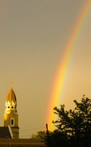 Double rainbow in Madison (FILE PHOTO: Jackie Johnson)