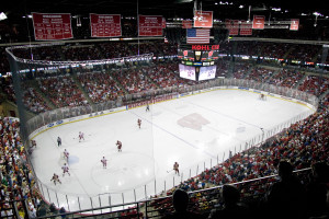 Wisconsin hockey at the Kohl Center