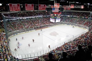 Badger hockey at the Kohl Center