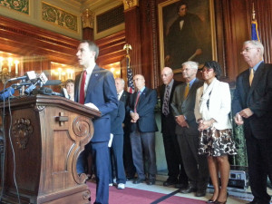 Senate Democrats will push for changes to the state budget. (Photo: Andrew Beckett)