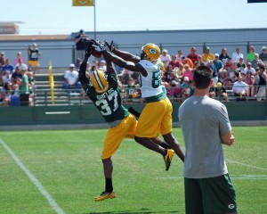 Sam Shields in coverage