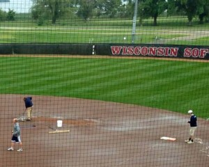 Preparing to play in Madison - Photo courtesy of WIAA