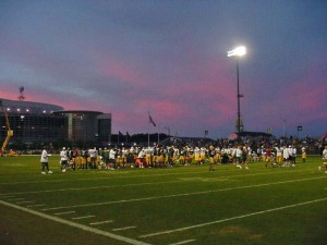 Packers wrapping up Friday night workout!