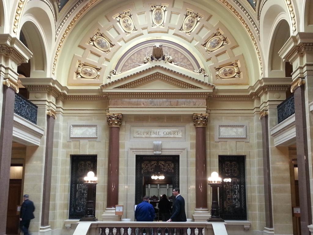The Wisconsin Supreme Court (Photo: Andrew Beckett)