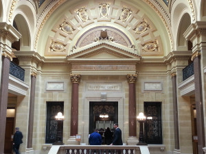 The Wisconsin Supreme Court (Photo: Andrew Beckett)