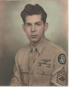 Dean Jeffers in Uniform - 1943