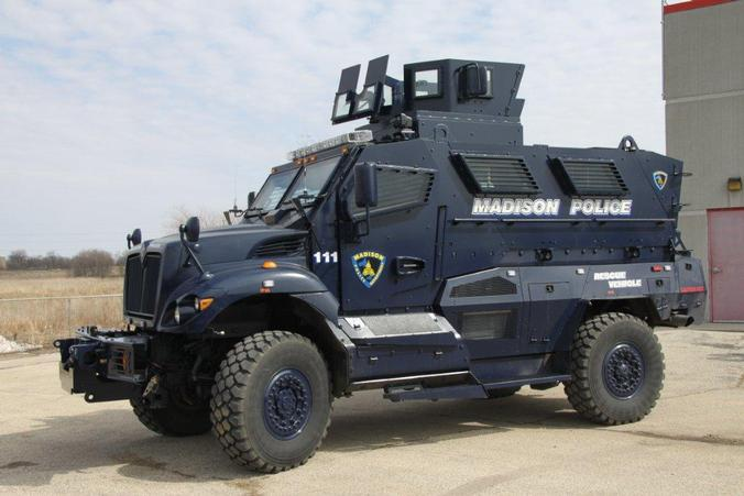 Police Defend New Armored Vehicles Wisconsin Radio Network