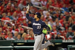Carlos Gomez - Photo: UPI/Bill Greenblatt