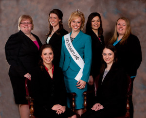 The 66th Alice in Dairyland and six finalists vying for 67th Alice. (Photo: DATCP)