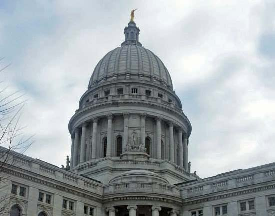 Wisconsin state Capitol Police arrest naked man