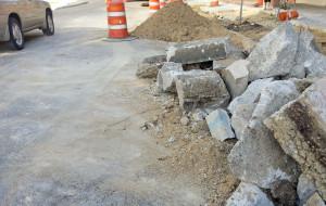 Road construction (PHOTO: Jackie Johnson)