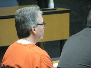 Jay Fischer appears in court. (Photo: WSAU)