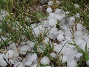 Hail in Western Wisconsin