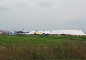 The Farm Technology Days tent city. (Photo: WSAU)