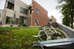 UW Platteville tornado damage (PHOTO: UW Platteville)