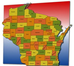 Map UW-Madison