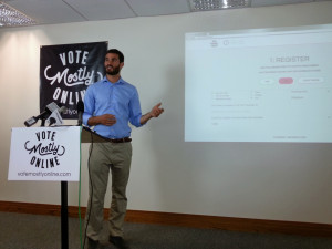Vote (Mostly) Online Co-Founder Michael Fenchel describes how his website works.