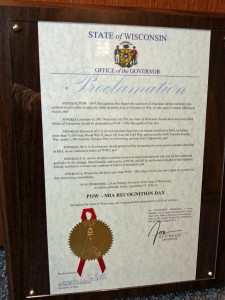 POW-MIA proclamation (PHOTO: Jackie Johnson)
