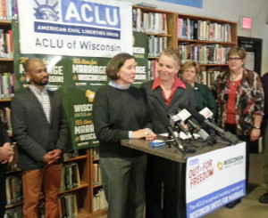 Couples celebrate after a decision striking down the gay marriage ban was upheld. (Photo: WRN)