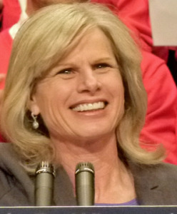 Gubernatorial candidate Mary Burke (PHOTO: Jackie Johnson, file)