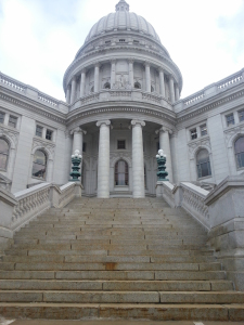 Wisconsin State Capitol (PHOTO: Jackie Johnson)