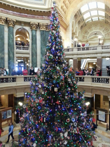 The 2014 Wisconsin Capitol Christmas Tree (Photo: WRN)